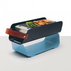 Barbecue de Mesa Portátil - Azul Pastel - Una Grill