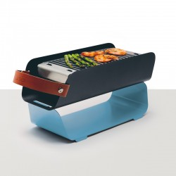 Portable Barbecue - Pastel Blue - Una Grill