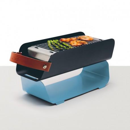 Barbecue de Mesa Portátil - Azul Pastel - Una Grill UNA GRILL UNABL