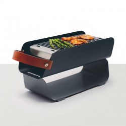 Portable Barbecue Grey - Una Grill UNA GRILL UNAGR