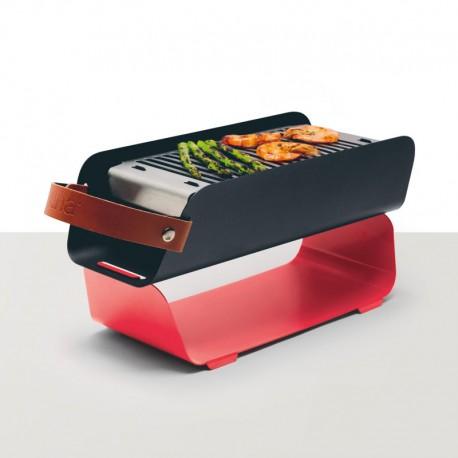 Barbecue De Mesa Portátil - Vermelho - Una Grill UNA GRILL UNARD