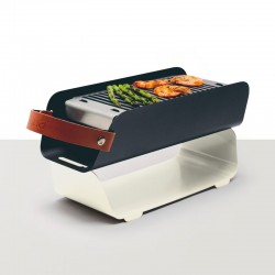 Portable Barbecue - White - Una Grill
