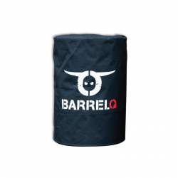 Small Cover For Barbecue Ø35Cm Black - Barrelq
