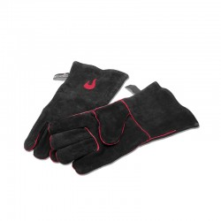 Grill Leather Gloves Black - Charbroil