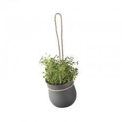 Hanging Flowerpot Grey - Rig-tig