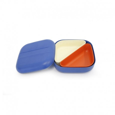 Marmita Bento - Go Azul Royal - Biobu BIOBU EKB70176