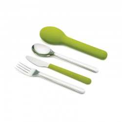 Cutlery Set and Green Case - GoEat Compact - Joseph Joseph JOSEPH JOSEPH JJ81033