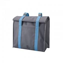 Bolsa-Lancheira Térmica Cinza E Azul - Rig-tig