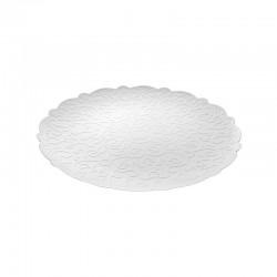 Round Tray Ø26Cm - Dressed White - Alessi