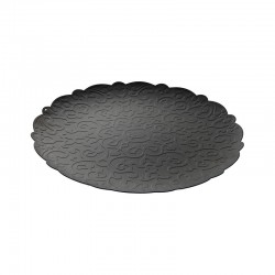 Round Tray Ø35Cm - Dressed Black - Alessi