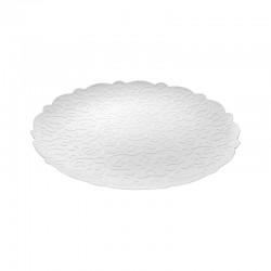 Round Tray Ø35Cm - Dressed White - Alessi ALESSI ALESMW07W