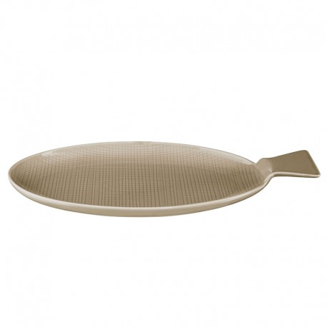 Large Fish Plate 37Cm - Voyage Taupe - Asa Selection | Large Fish Plate 37Cm - Voyage Taupe - Asa Selection