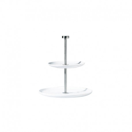 Round Etagere 2 Tiers - À Table White - Asa Selection ASA SELECTION ASA2010013