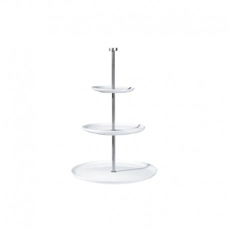 Round Etagere 3 Tiers - À Table White - Asa Selection ASA SELECTION ASA2011013