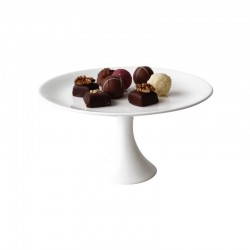 Cake Stand/Bonbonniere On Foot 21Cm - À Table White - Asa Selection