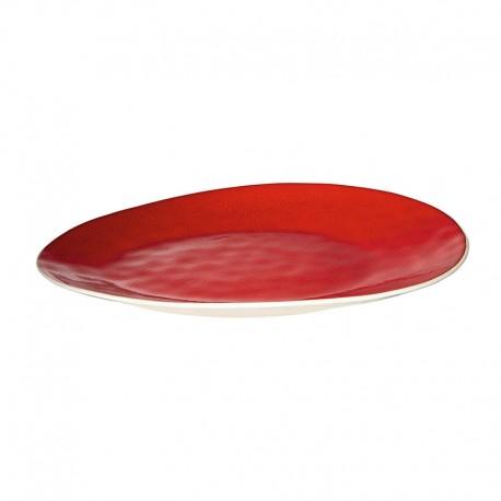 Plate 34Cm Magma - À La Maison Red - Asa Selection ASA SELECTION ASA26202047