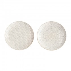 Set of 2 Plates - Linna White - Asa Selection