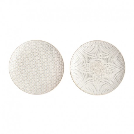 Set of 2 Plates - Linna White - Asa Selection ASA SELECTION ASA90404071