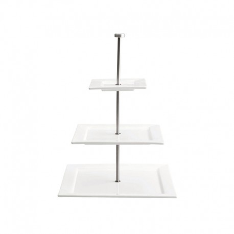 Etagere 3 Tiers - Quadrato White - Asa Selection ASA SELECTION ASA91410005