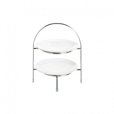 Etagere 2 Tiers 28Cm - À Table Steel - Asa Selection ASA SELECTION ASA99200950