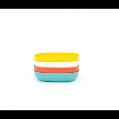 Conjunto De Taças Massa - Gusto Sortido (laranja, Branco, Turquesa, Limão) - Biobu BIOBU EKB34611