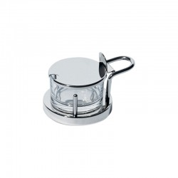 Parmesan Cheese Cellar - 5071 Steel - Alessi
