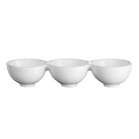 3 Section Bowl 32Cm - Grande White - Asa Selection ASA SELECTION ASA5238147