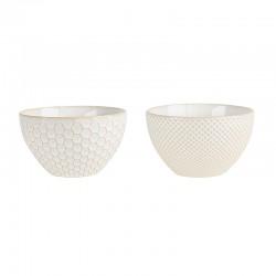 Set of 2 Bowls - Linna White - Asa Selection
