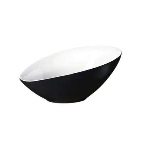 Bowl Asymmetric 22,5Cm - Vongole Black - Asa Selection ASA SELECTION ASA91052304