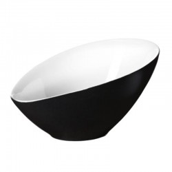 Bowl Asymmetric 32,5Cm - Vongole Black - Asa Selection