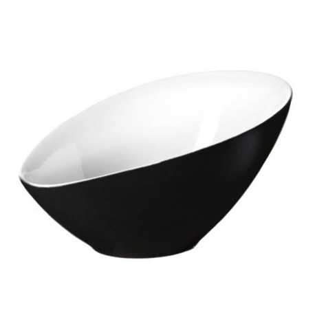 Bowl Asymmetric 32,5Cm - Vongole Black - Asa Selection ASA SELECTION ASA91053304