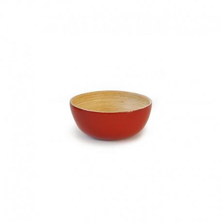 Bowl Small - Bo Tomato And Natural - Ekobo Handmade EKOBO HANDMADE EKB198