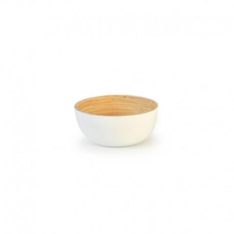 Bowl Small - Bo White And Natural - Ekobo Handmade EKOBO HANDMADE EKB228