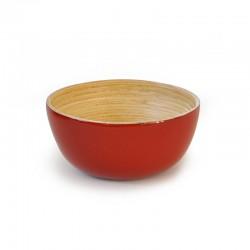 Taça Grande - Bo Vermelho E Natural - Ekobo Handmade EKOBO HANDMADE EKB273