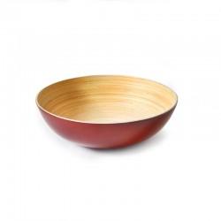 Taça Massa/Salada - Solo Vermelho - Ekobo Handmade