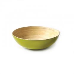 Pasta/Salad Plate-Bowl - Solo Lime - Ekobo Handmade