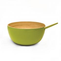 Serving Bowl Medium - Riso Lime - Ekobo Handmade