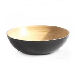 Taça de Servir Grande - Medio Cinza - Ekobo Handmade