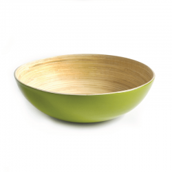 Serving Bowl Large - Medio Lime - Ekobo Handmade