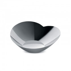 Salad Serving Bowl Large - Human Collection Steel - Alessi