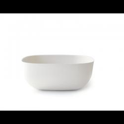 Saladeira Pequena 20Cm - Gusto Branco - Biobu