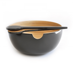 Salad Bowl Calimero Smoke - Ekobo Handmade
