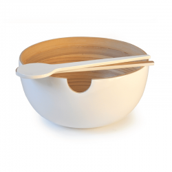 Salad Bowl - Calimero White - Ekobo