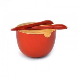 Saladeira - Globo Vermelho - Ekobo Handmade