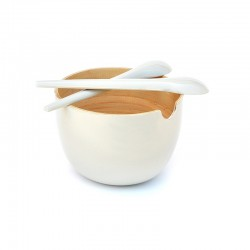 Salad Bowl - Globo White - Ekobo