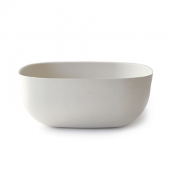 Saladeira Grande 28Cm - Gusto Branco - Biobu