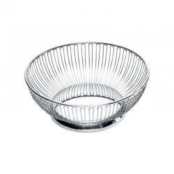 Round Wire Basket Ø24Cm Inox - Alessi ALESSI ALES826/24
