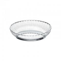 Oval Wire Basket 28Cm Inox - Alessi ALESSI ALES829