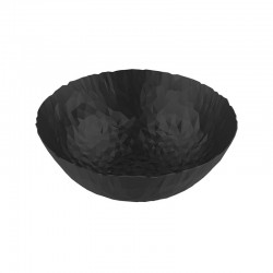 Round Basket - Joy N.11 Super Black - Alessi