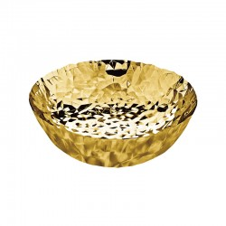 Round Basket - Joy N.11 Gold - Alessi